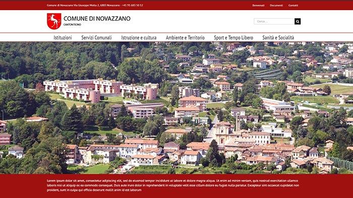 sito internet novazzano