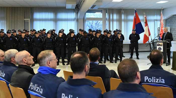 scuola di Polizia ticinese
