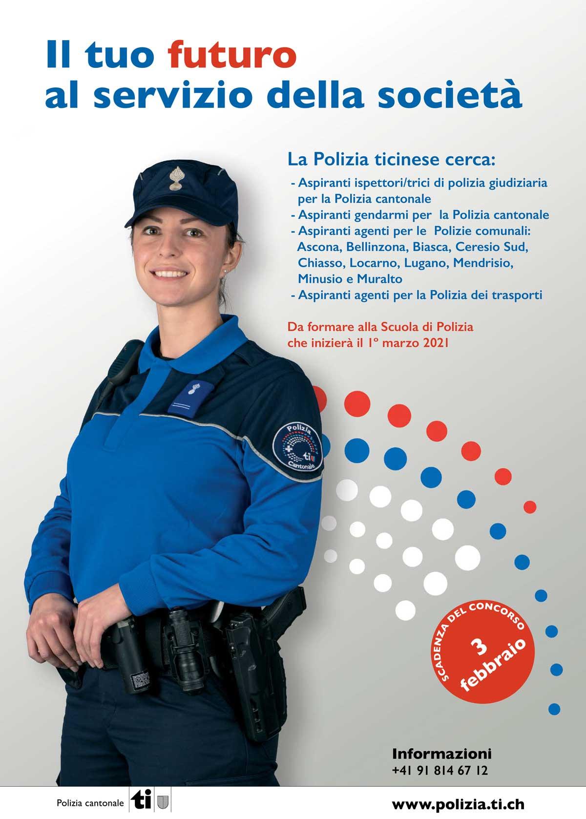 scuola di polizia in canton ticino